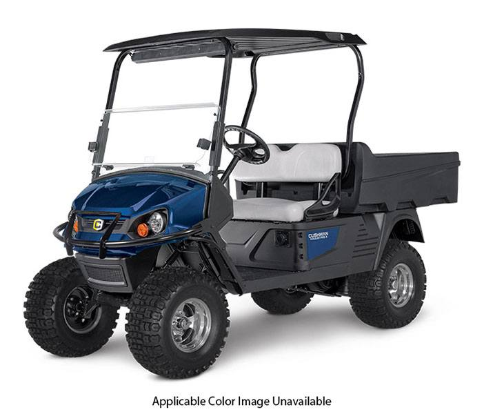 2000000005 new 2018 cushman hauler pro x (electric) specialty vehicles in