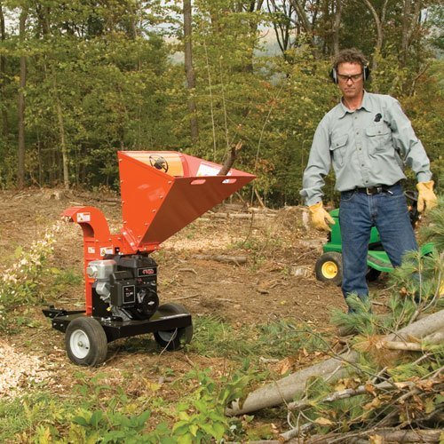 2015 DR Power Equipment 11.50 Premier, Manual-Start Rapid-Feed Chipper in Bigfork, Minnesota