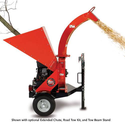 2015 DR Power Equipment 30.00 Pro-XL, Electric-Start Rapid-Feed Chipper in Bigfork, Minnesota