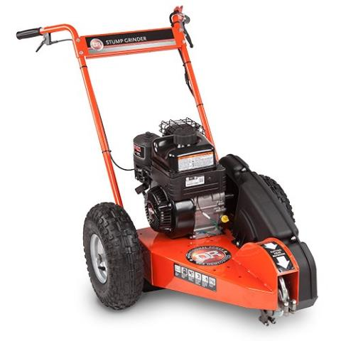 2015 DR Power Equipment 9.5 ft-lbs. Premier, Manual-Start Stump Grinder in Bigfork, Minnesota