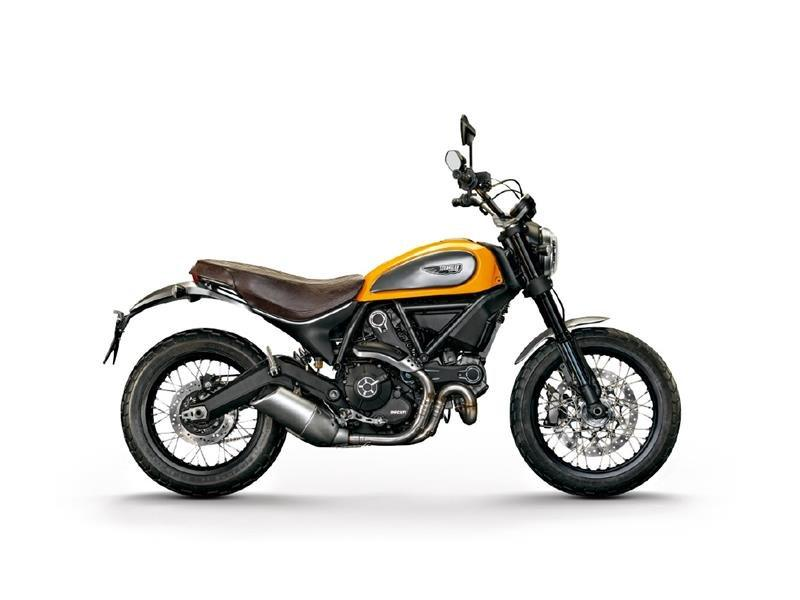 2015 Ducati Scrambler Classic in Greenville, South Carolina