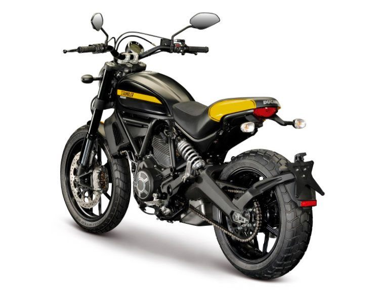 2016 Ducati Scrambler Full Throttle in Medford, Massachusetts