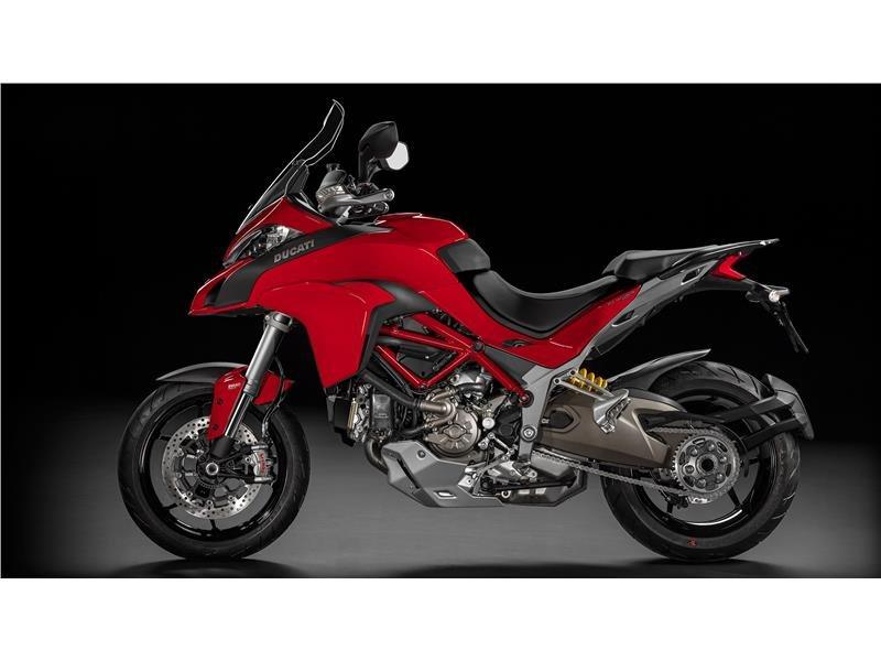 2016 Ducati Multistrada 1200 S in Medford, Massachusetts