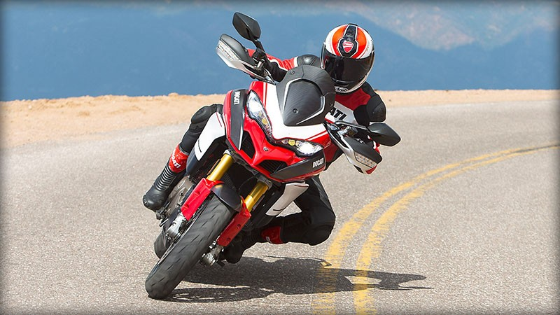 2017 Ducati Multistrada 1200 Pikes Peak in Medford, Massachusetts