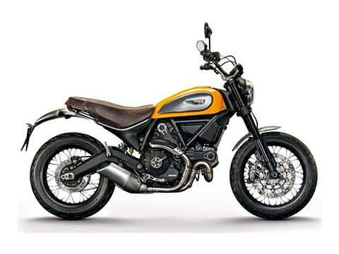 2017 Ducati Scrambler Classic in Greenville, South Carolina