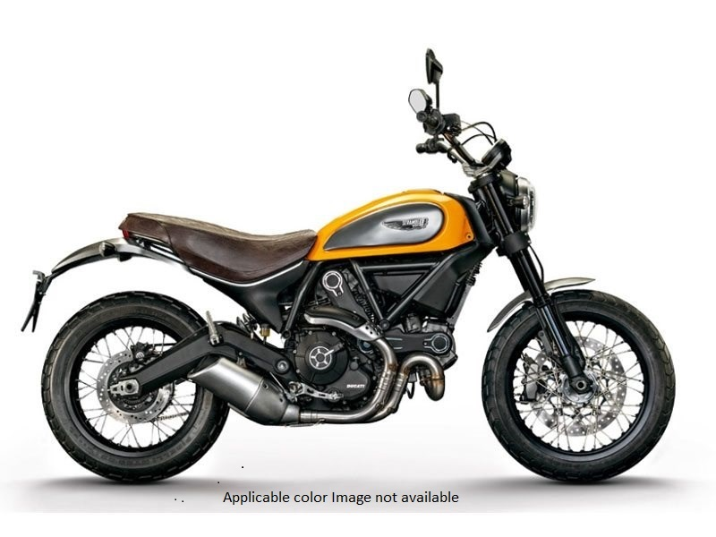 2017 Ducati Scrambler Classic in Northampton, Massachusetts