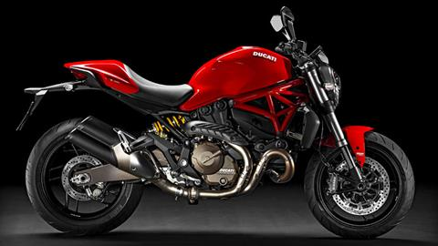 2017 Ducati Monster 821 in Brea, California
