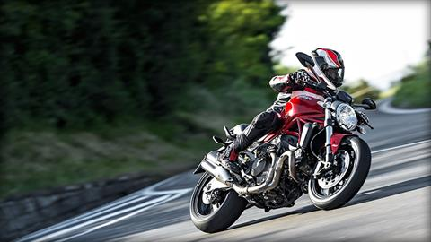 2017 Ducati Monster 821 in Medford, Massachusetts