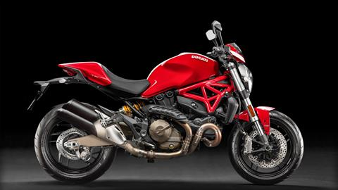 2017 Ducati Monster 821 Stripe in Fort Montgomery, New York