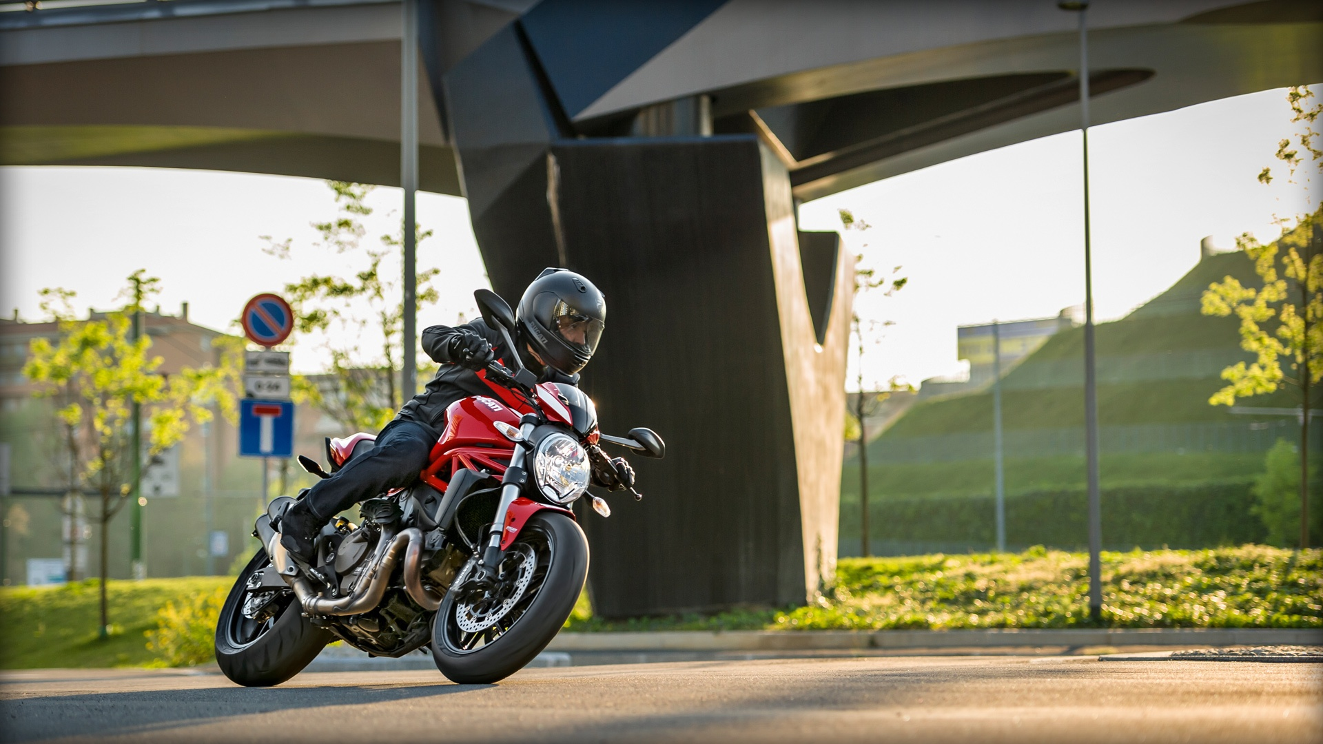 2017 Ducati Monster 821 Stripe in Oakdale, New York