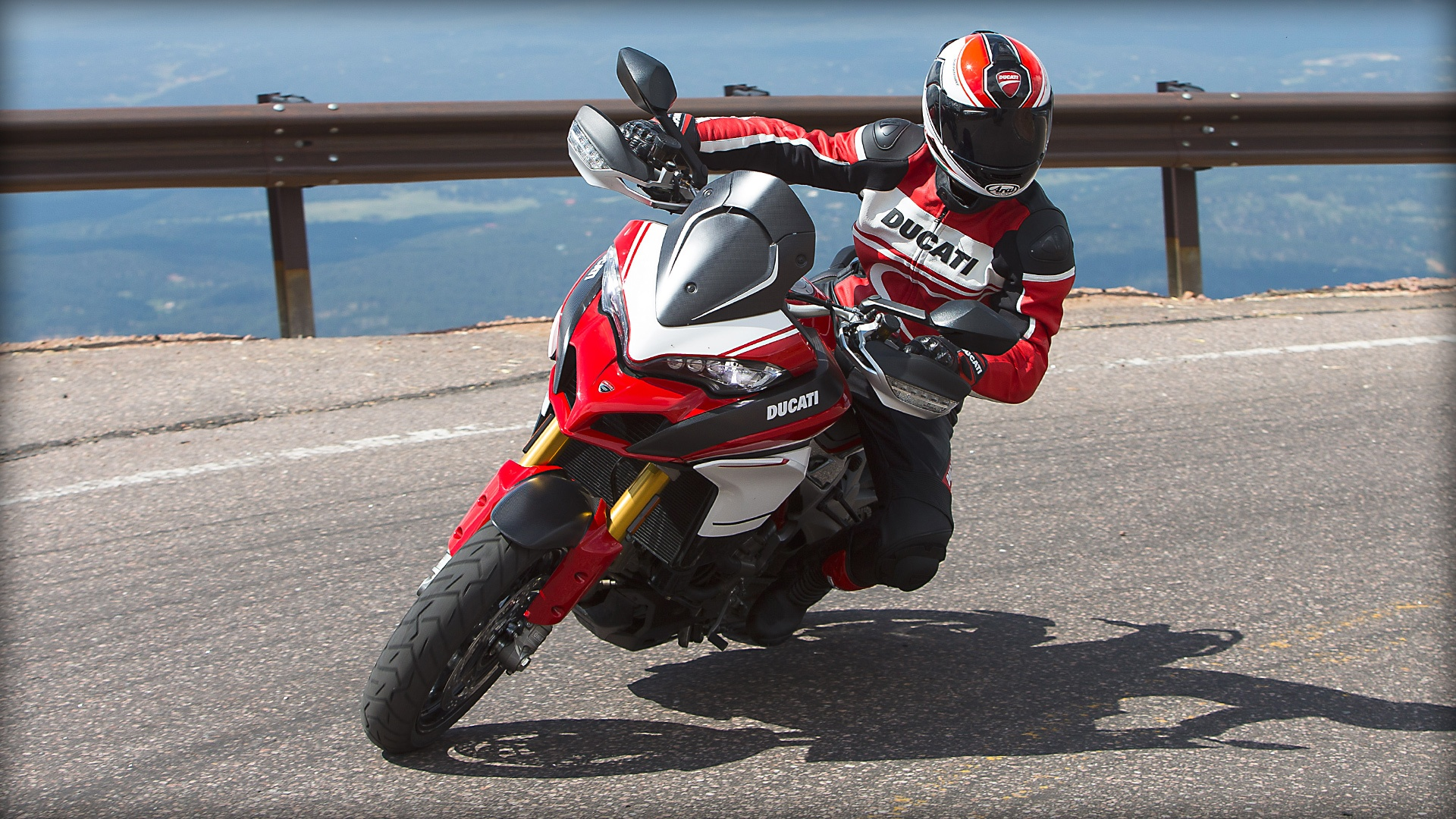 2017 Ducati Multistrada 1200 Pikes Peak in Northampton, Massachusetts
