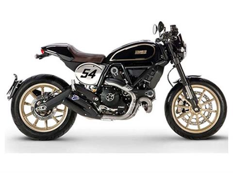 2017 Ducati Scrambler Cafe Racer in Greenville, South Carolina