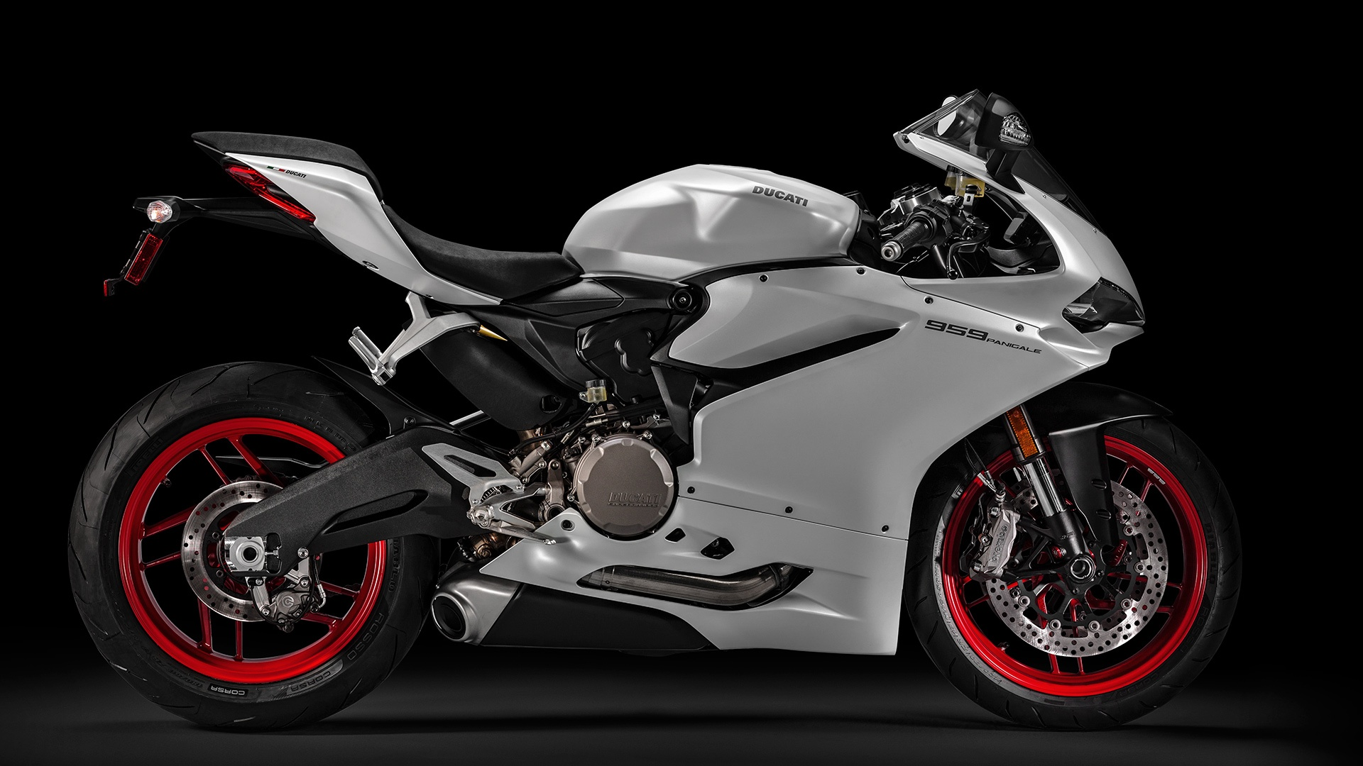 2017 Ducati Superbike 959 Panigale (US version) in Daytona Beach, Florida