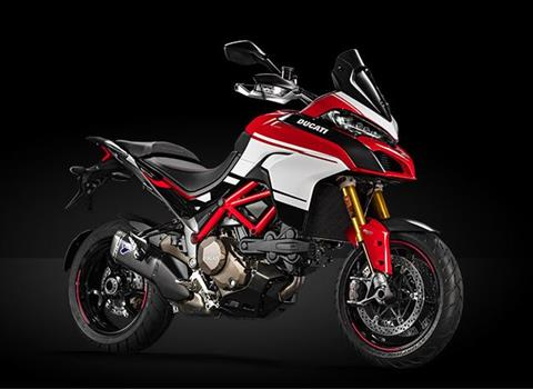 2018 Ducati Multistrada 1200 Pikes Peak in Medford, Massachusetts