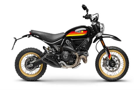 2018 Ducati Scrambler Desert Sled in Northampton, Massachusetts