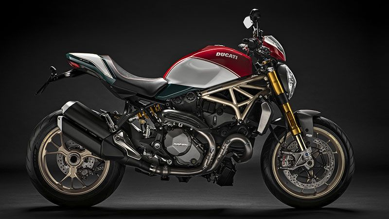 Ducati monster single sided swingarm