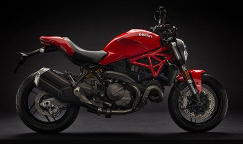 2018 Ducati Monster 821 in Northampton, Massachusetts