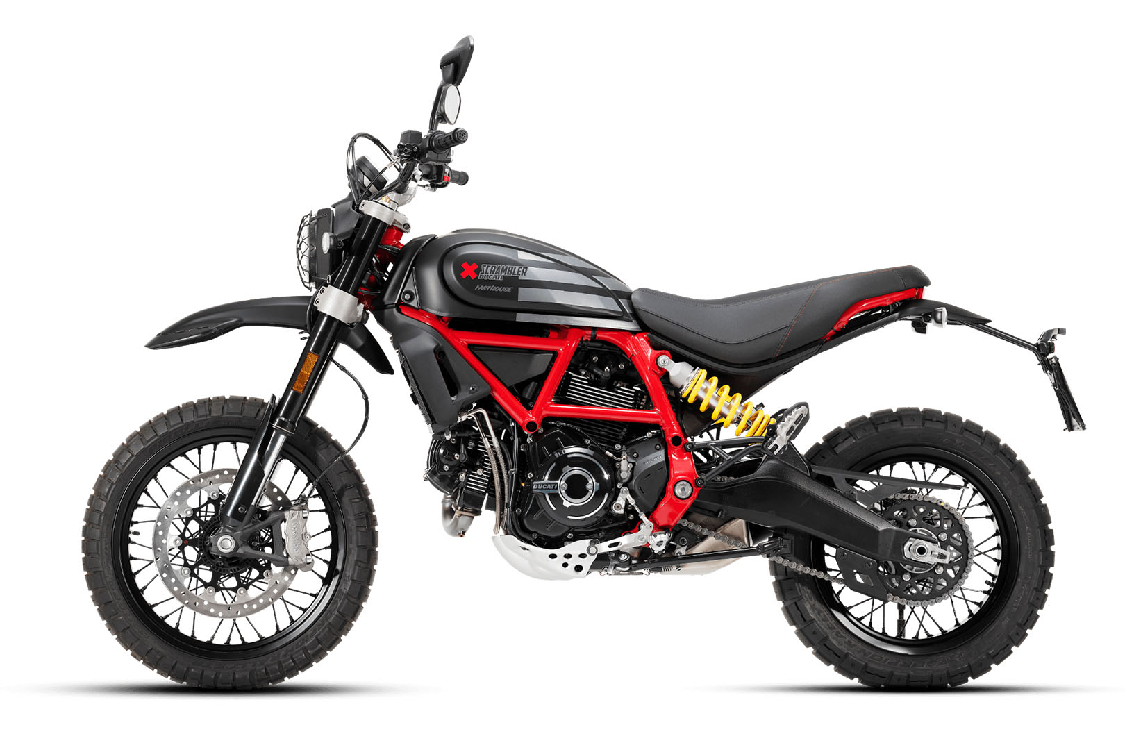 2021 Ducati Scrambler Desert Sled Fasthouse LE in Philadelphia, Pennsylvania - Photo 3