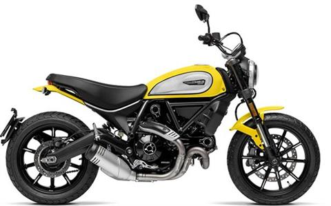 2021 Ducati Scrambler Icon in Concord, New Hampshire