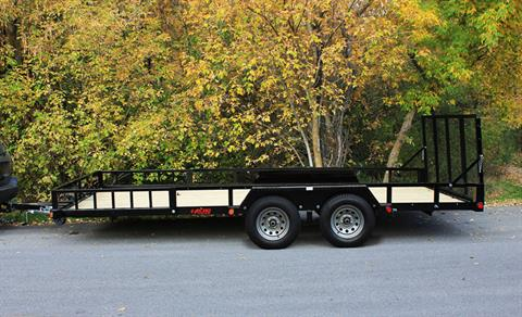 2020 Echo Trailers Advantage Tandem Axle ERA-17-14T in Ukiah, California - Photo 3