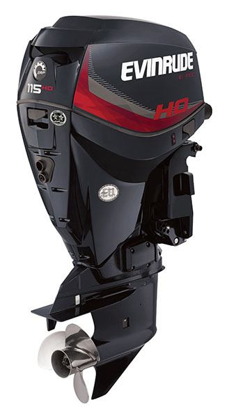 Evinrude E-TEC 115 HO (A115GHL) in Freeport, Florida