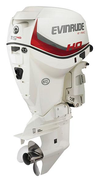 Evinrude E-TEC 115 HO (A115SHL) in Freeport, Florida