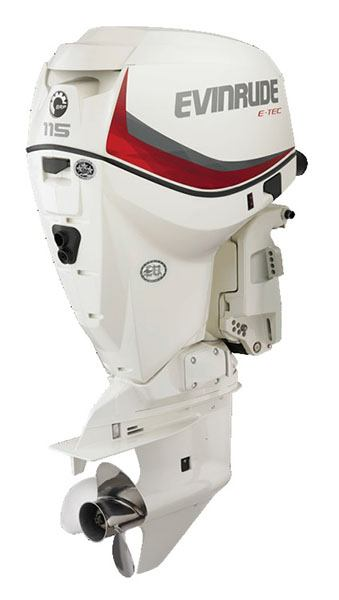 Evinrude E-TEC 115 HP (E115DPX) in Freeport, Florida