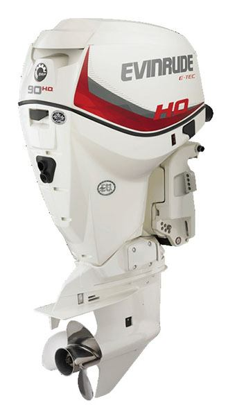 Evinrude E-TEC 90 HO in Freeport, Florida