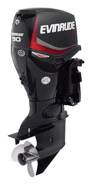 Evinrude E-TEC Pontoon 90 HP in Freeport, Florida