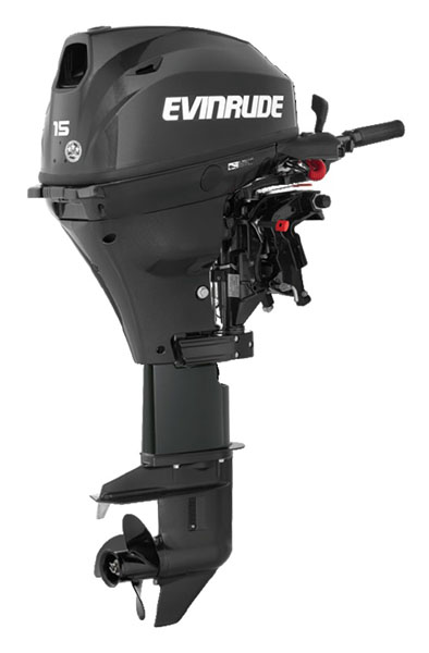 Evinrude Portable 15 HP (E15TEG4) in Wilmington, Illinois