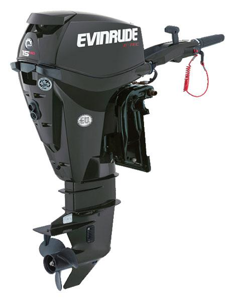 Evinrude E-TEC 15 HO (E15HPGX) in Freeport, Florida