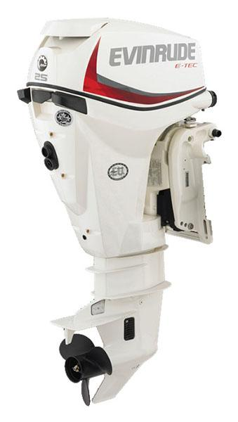 Evinrude E-TEC 25 HP (E25DRSL) in Wilmington, Illinois