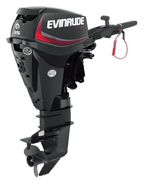 Evinrude E-TEC 25 HP (E25GTEL) in Roscoe, Illinois