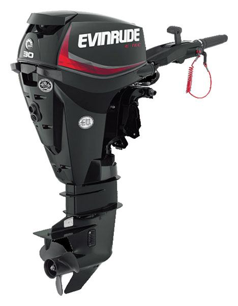 Evinrude E-TEC 30 HP (E30GTEL) in Roscoe, Illinois