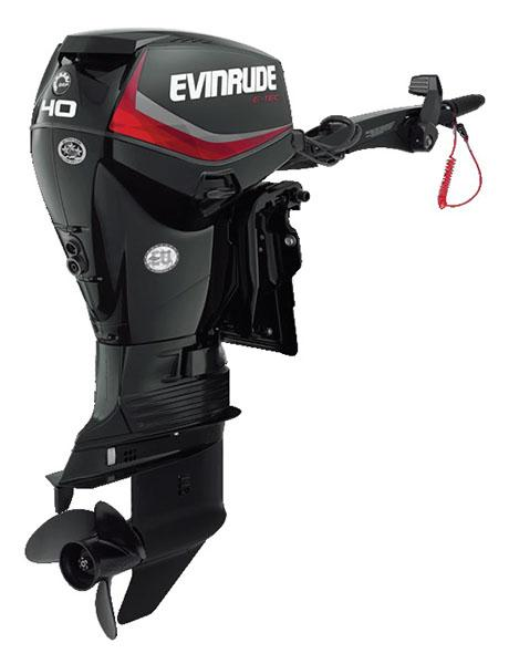 Evinrude E-TEC 40 HP (E40DRGL) in Roscoe, Illinois