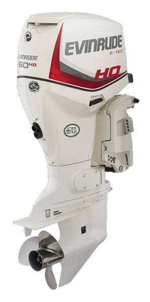 Evinrude E-TEC 60 HO in Wilmington, Illinois