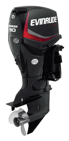 Evinrude E-TEC 90 HP (E90DPGL) in Roscoe, Illinois