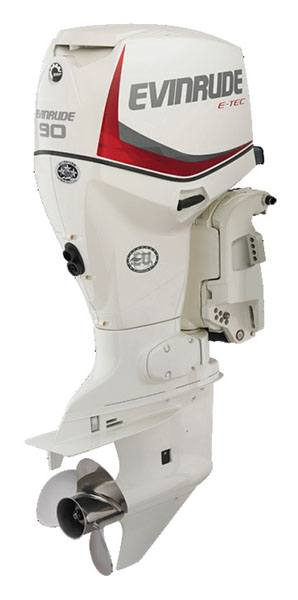 Evinrude E-TEC 90 HP (E90DPX) in Oregon City, Oregon