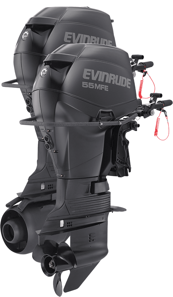 2015 Evinrude E55MRL in Fort Worth, Texas