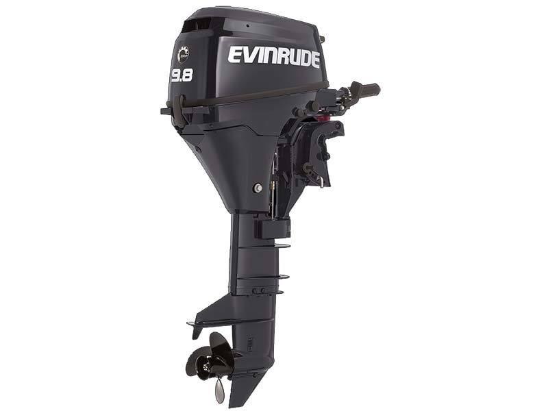 2016 Evinrude E10RG4 in Trego, Wisconsin
