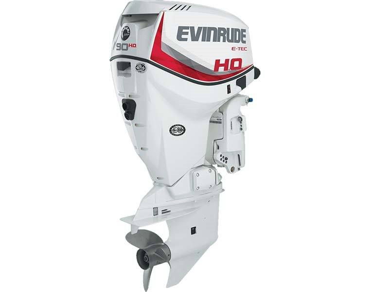 2016 Evinrude E90HSX in Sparks, Nevada