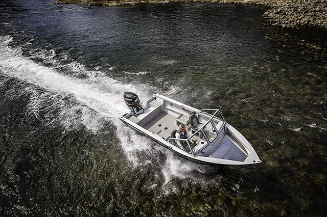 2016 Evinrude E-TEC Jet 40 hp in Roscoe, Illinois