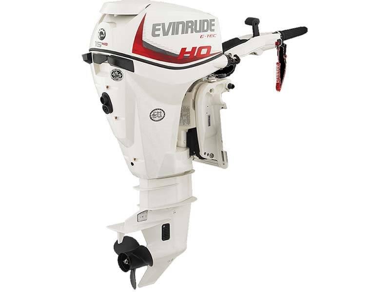 2016 Evinrude E15HPSX in Trego, Wisconsin