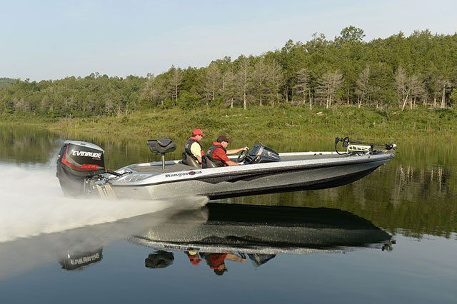 2016 Evinrude E90DSL in Roscoe, Illinois