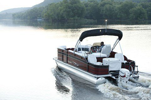 2016 Evinrude Pontoon E65GL in Waxhaw, North Carolina