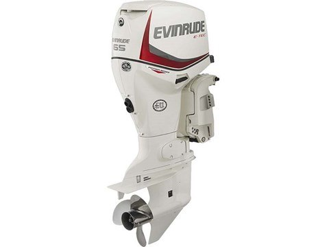 2016 Evinrude Pontoon E65SNL in Trego, Wisconsin