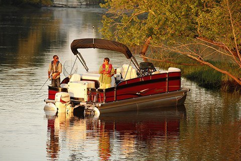 2016 Evinrude Pontoon E90GNL in Waxhaw, North Carolina