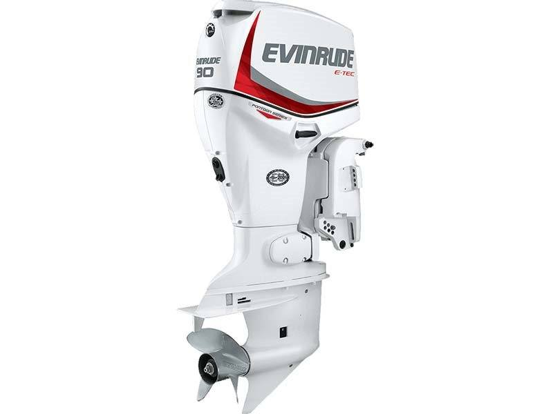 2016 Evinrude Pontoon E90SL in Fort Worth, Texas