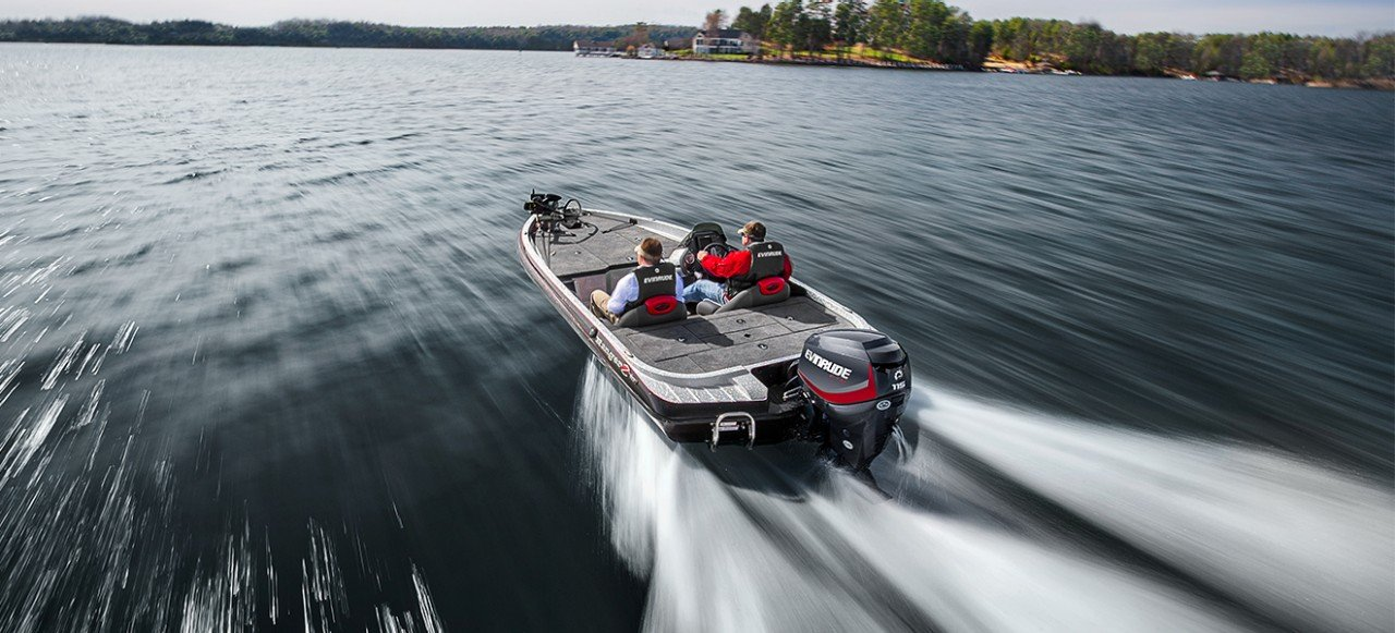 2017 Evinrude E90HGL in Oceanside, New York