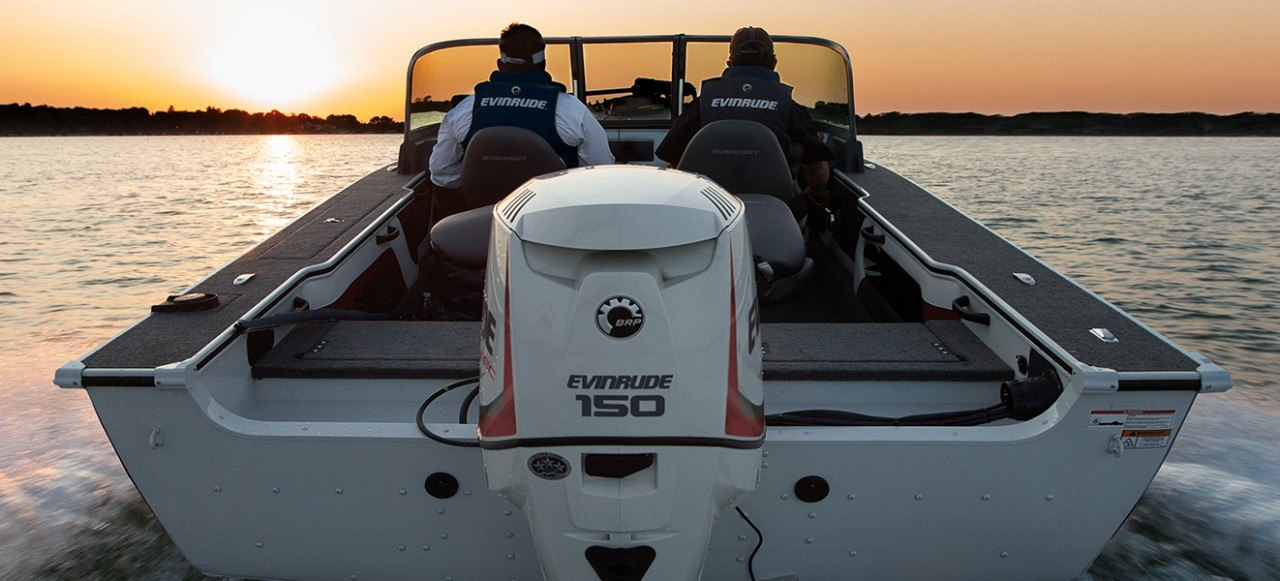 2017 Evinrude E135HGX HO in Mountain Home, Arkansas